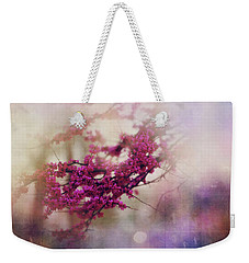 Weekender Tote Bag featuring the photograph Spring Dreams IIi by Toni Hopper