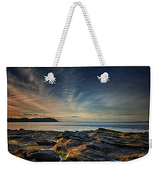 Spring Evening At Madrona Weekender Tote Bag by Randy Hall