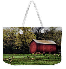 Spring Farm Weekender Tote Bag by Richard Engelbrecht