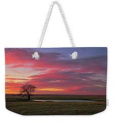 Spring Fed Peace Weekender Tote Bag