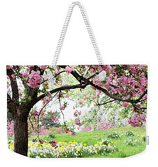Weekender Tote Bag featuring the photograph Spring Fever by Jessica Jenney