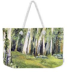 Spring Field Weekender Tote Bag by Laurie Rohner