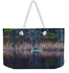 Spring Fishing Weekender Tote Bag by Tricia Marchlik