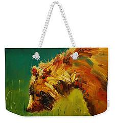 Spring Flower Bear Weekender Tote Bag