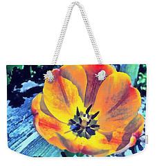 Weekender Tote Bag featuring the photograph Spring Flower Bloom by Derek Gedney