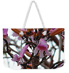 Weekender Tote Bag featuring the photograph Spring Flowers 000  by Chris Mercer
