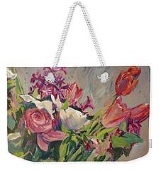 Spring Flowers Bouquet Weekender Tote Bag