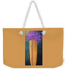 Spring Flowers Weekender Tote Bag by Nancy Jolley