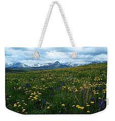 Spring Flowers On The Front Weekender Tote Bag