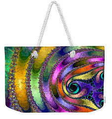 Spring Garden Abstract Weekender Tote Bag by Maciek Froncisz