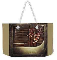 Spring - Geometry And Blooms Weekender Tote Bag