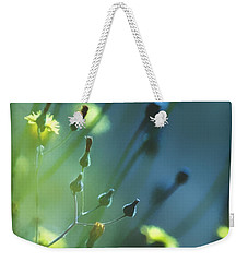 Weekender Tote Bag featuring the photograph Spring Grass by Yulia Kazansky