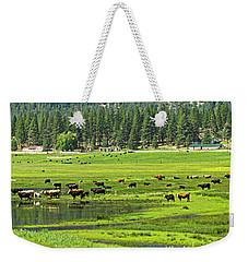 Spring Grazing Weekender Tote Bag