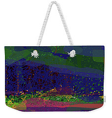 Weekender Tote Bag featuring the digital art Spring Homage To Jackson by Walter Fahmy