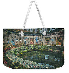 Weekender Tote Bag featuring the photograph Spring House 2 - Paradise Springs - Kettle Moraine State Forest by Jennifer Rondinelli Reilly - Fine Art Photography
