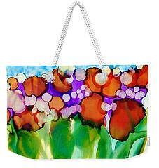 Weekender Tote Bag featuring the painting Spring In Charleston by Yolanda Koh