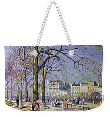 Spring In Hyde Park Weekender Tote Bag by Alice Taite Fanner