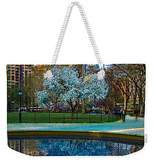 Spring In Madison Square Park Weekender Tote Bag