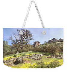 Weekender Tote Bag featuring the photograph Spring In Pinnacles National Park by Art Block Collections