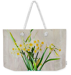 Weekender Tote Bag featuring the photograph Spring In The Country by Benanne Stiens