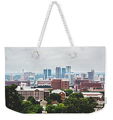 Weekender Tote Bag featuring the photograph Spring In The Magic City - Birmingham by Shelby Young