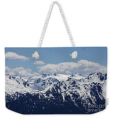 Spring In The Olympic Mountains Weekender Tote Bag