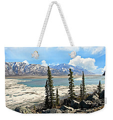 Spring In The Wrangell Mountains Weekender Tote Bag