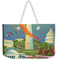 Spring In Washington D.c. Weekender Tote Bag