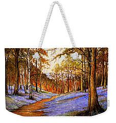 Spring In Wentwood  Warm Edit Weekender Tote Bag