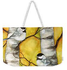 Spring Weekender Tote Bag by Inese Poga