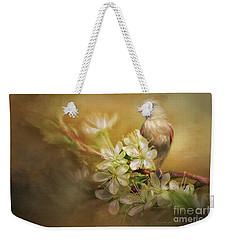 Spring Is In The Air Weekender Tote Bag by Linda Blair