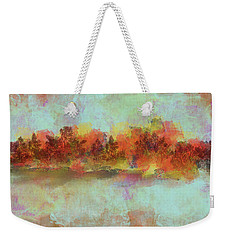 Weekender Tote Bag featuring the digital art Spring Is Near by Jessica Wright