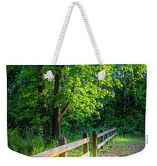 Spring Leaves Weekender Tote Bag