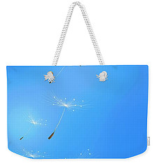 Weekender Tote Bag featuring the painting Spring Lightness by Veronica Minozzi