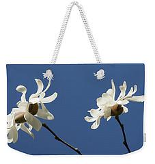 Spring Magnolias Weekender Tote Bag by Haleh Mahbod