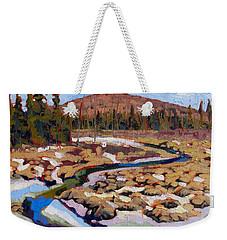 Spring Marsh Algonquin Weekender Tote Bag