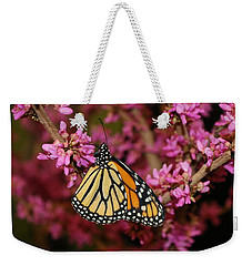 Spring Monarch Weekender Tote Bag