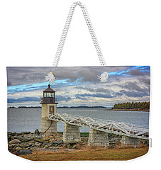 Weekender Tote Bag featuring the photograph Spring Morning At Marshall Point by Rick Berk