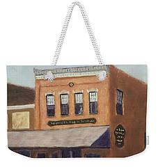 Spring Morning Downtown Weekender Tote Bag