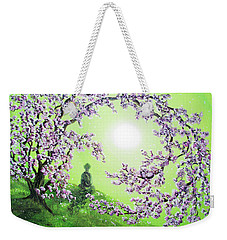 Spring Morning Meditation Weekender Tote Bag