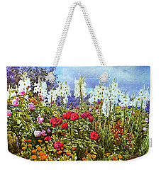 Weekender Tote Bag featuring the photograph Spring by Munir Alawi