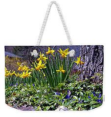Spring Weekender Tote Bag by  Newwwman