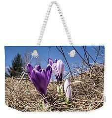 Spring On Bule Weekender Tote Bag