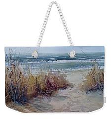 Spring On Lake Michigan Weekender Tote Bag
