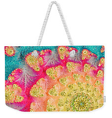 Weekender Tote Bag featuring the digital art Spring On Parade by Bonnie Bruno