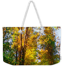 Spring Path Weekender Tote Bag