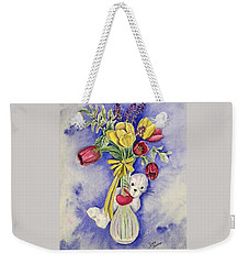 Spring Peek-a-boo I Love You Weekender Tote Bag