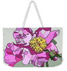 Spring Pink Weekender Tote Bag by Jamie Downs