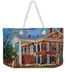 Spring Planting At The Dahlonega Gold Museum Weekender Tote Bag