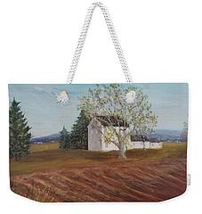 Spring Plowing Weekender Tote Bag